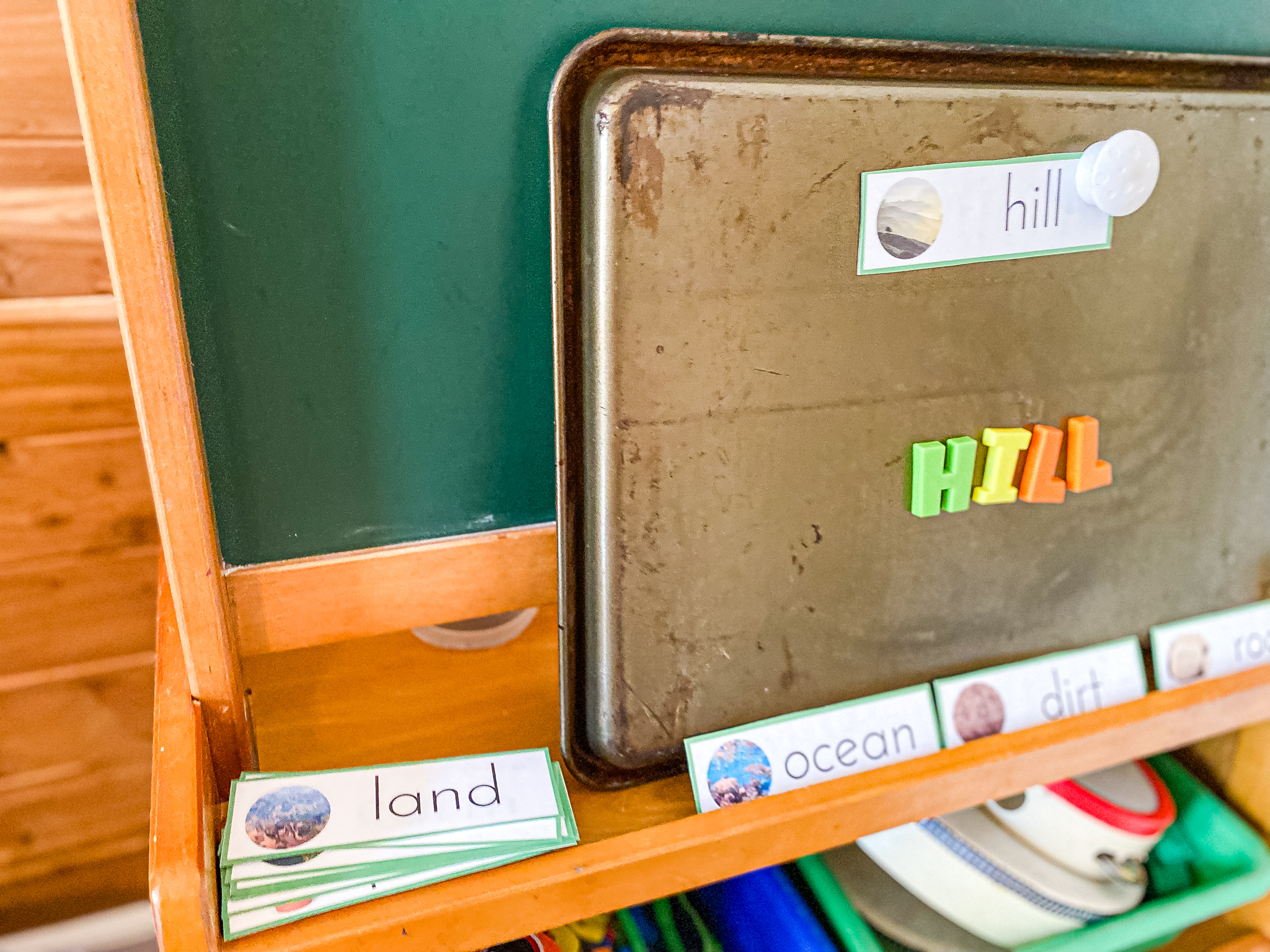 Planet Earth Word Building Activity + Printable Cards