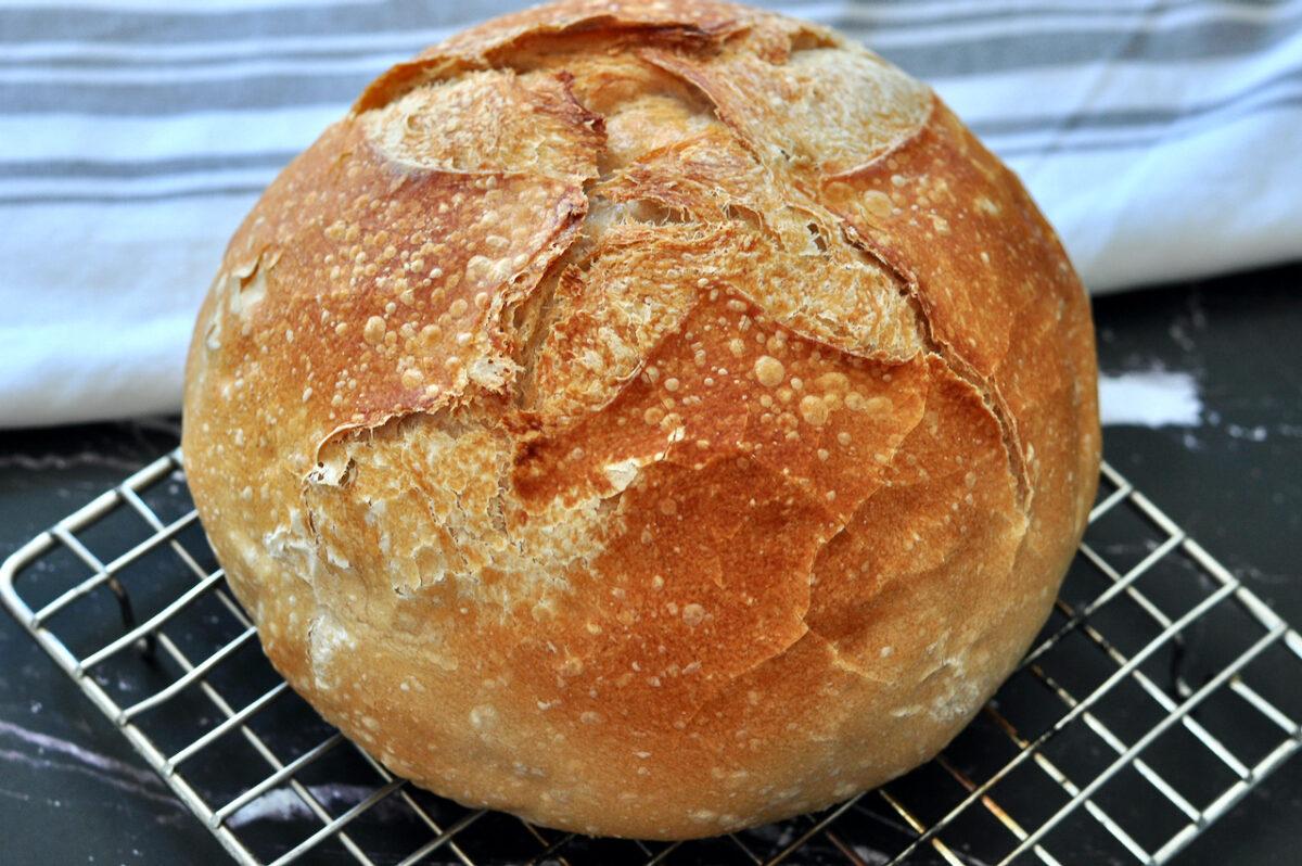 Sourdough Bread Machine Bread