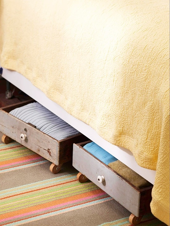 Drawers for storage space