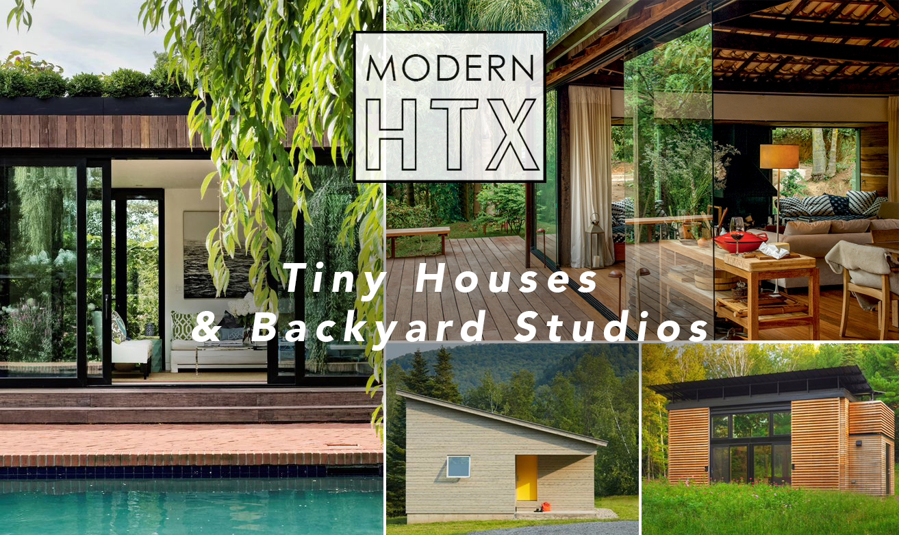Tiny Houses & Backyard Studios