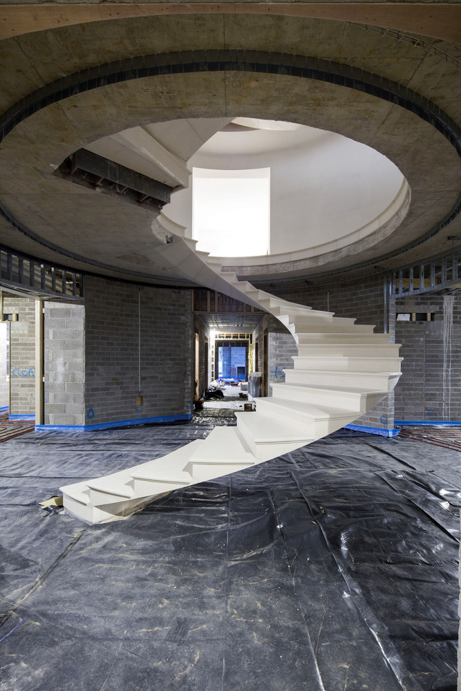 Helical Stair RAL Architects Amp Webb Yates Engineers