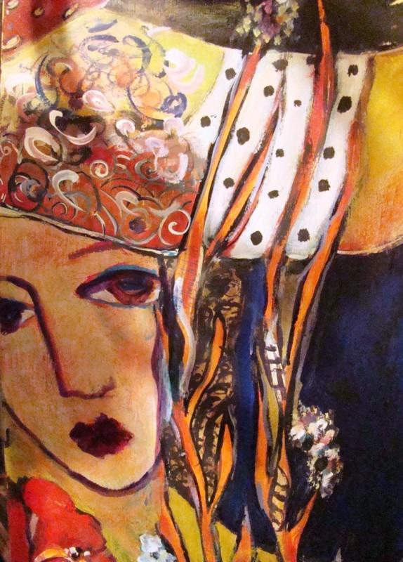 Cuban Artist Andres Serrano Abstract Art Floor Screen