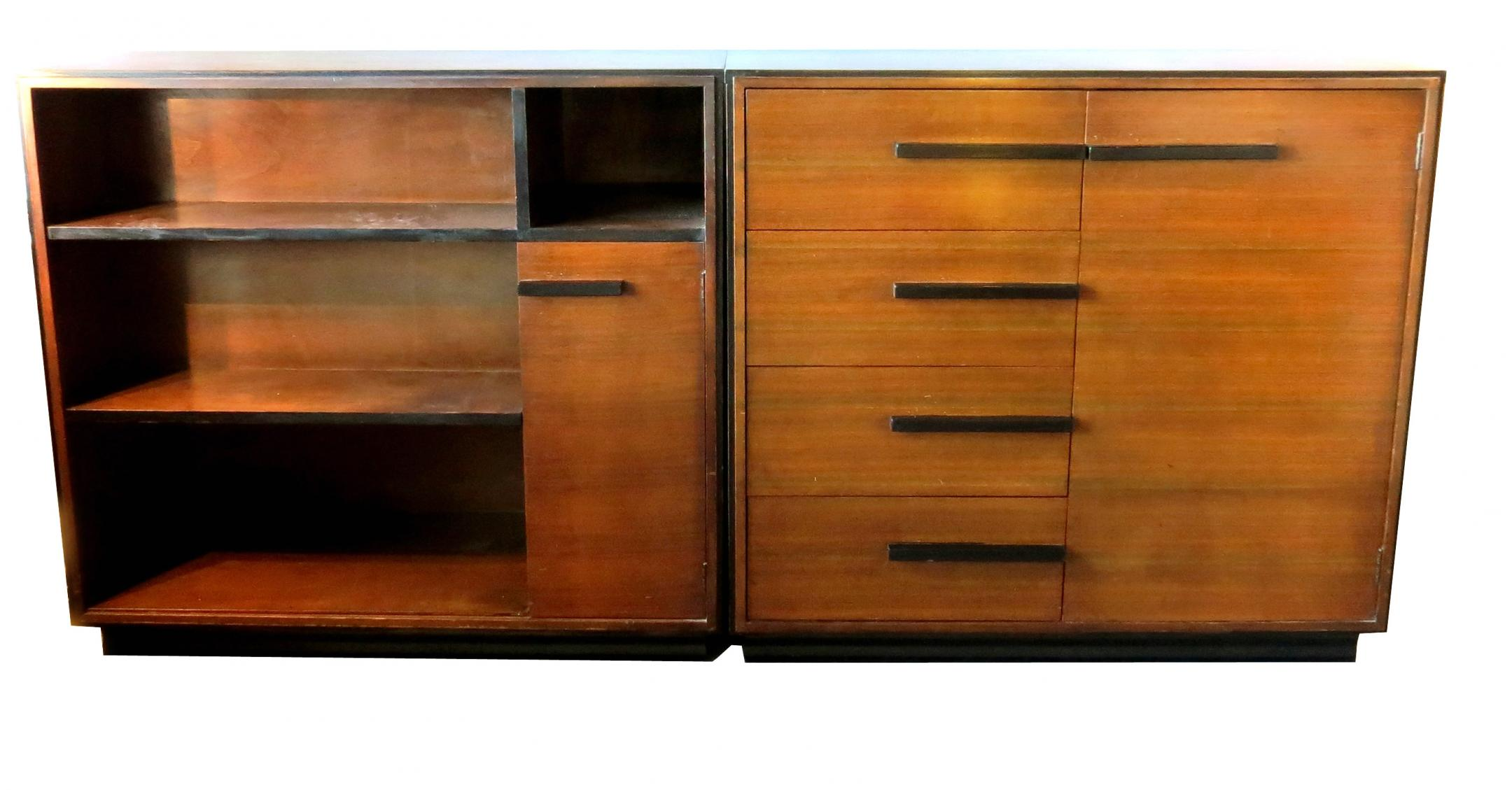 Gilbert Rohde American Art Deco Chest Bookcase For