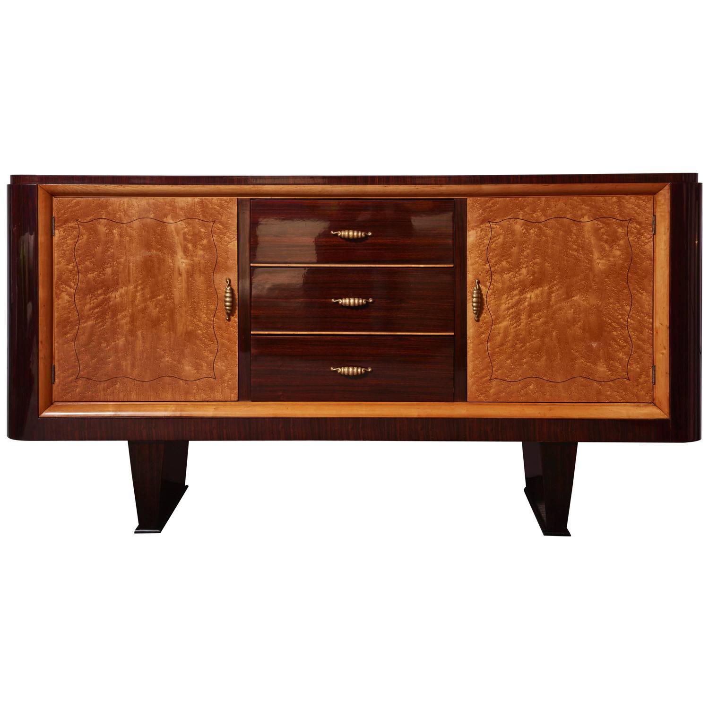 Italian Origin Art Deco Sideboard Modernism