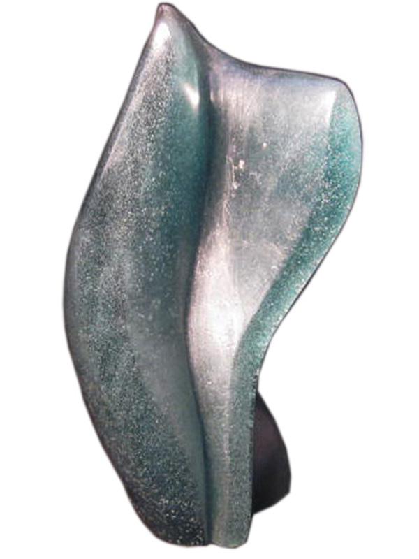 Daum France Abstract Modernist Glass Sculpture Modernism
