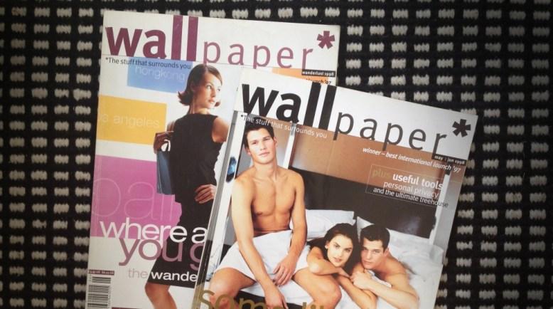 Wallpaper magazine cover modernissimo blog