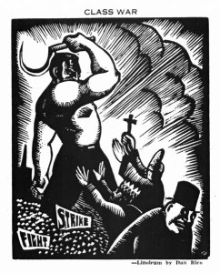 Dan Rico, CLASS WAR. No. 5 (Mar.-Apr. 1934): 22.