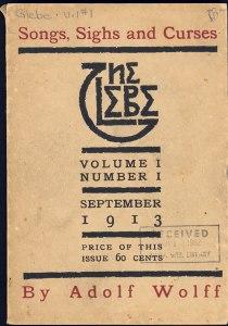 Cover design. 1.1 (Sept. 1913).
