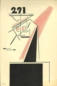 Marius de Zayas, cover design, No. 1 (Mar. 1915).