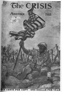 William Edward Scott, At Bay. 17:1 (Nov. 1918): cover.