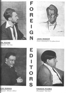 """""""Foreign Editors."""" 12:2 (May 1929): 57."""