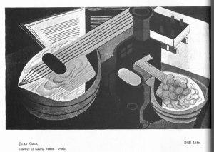 Juan Gris, Still Life. 1:1 (Nov. 1921): 22.