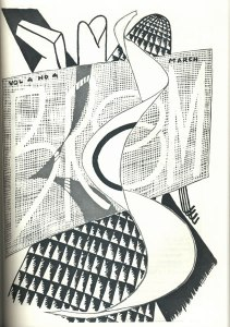 Man Ray, cover design. 4:4 (Mar. 1923).