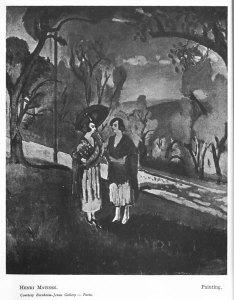 Henri Matisse, Painting. 2:1 (Apr. 1922): 2.