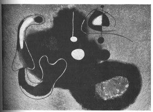 Joan Miró, Peinture. Transition. No. 26 (1937): 101.