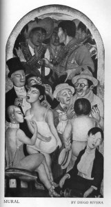 Diego Rivera, Mural. The Southwest Review. 13:4 (July 1928): insert.