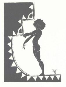 Richard Bruce Nugent, Drawing. Fire!! No. 1 (Nov. 1926): 24.