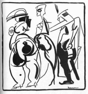 Jean de Bosschere, Ou Irai-Je? Vol. 70 (May 1921): 518, insert.