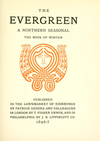 Title Page, 1:4 (Winter 1896-97).