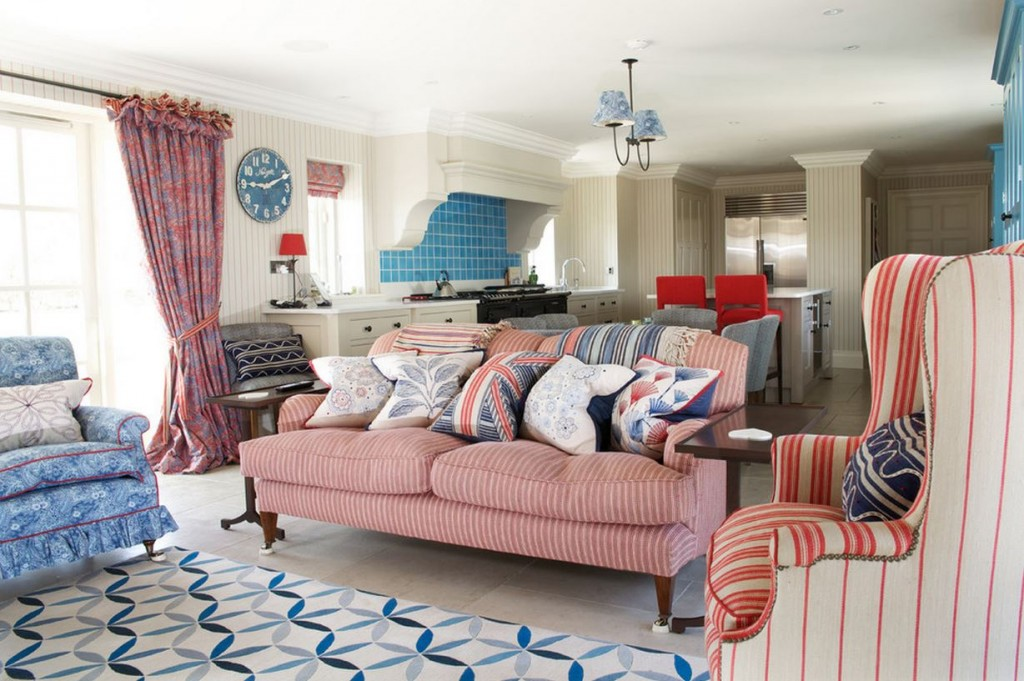 All American: Red, White, And Blue Decor