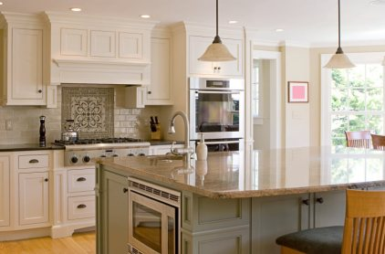 white kitchen with island kitchen remodeling