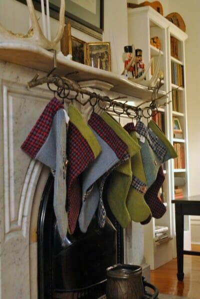 Creative Ways To Hang Your Christmas Stockings