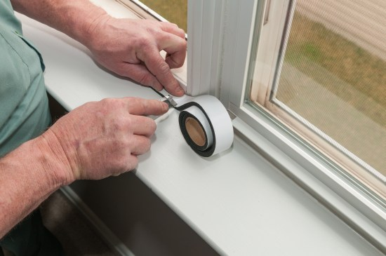 insulating with foam tape