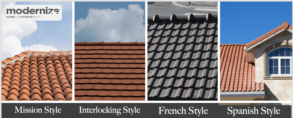 clay tile roof costs local price
