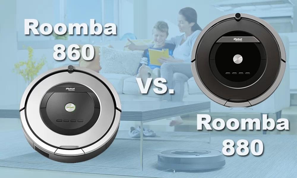 Roomba 860 vs 880