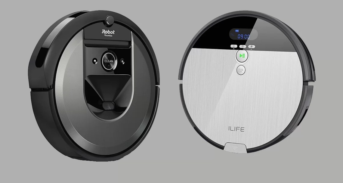 ilife vs Roomba