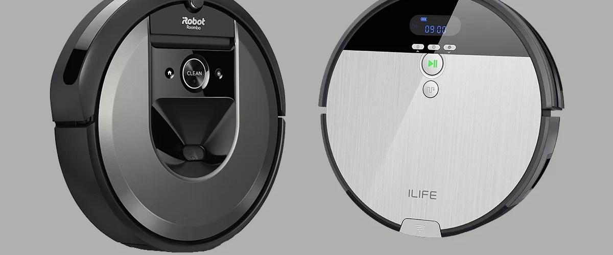 ilife vs Roomba