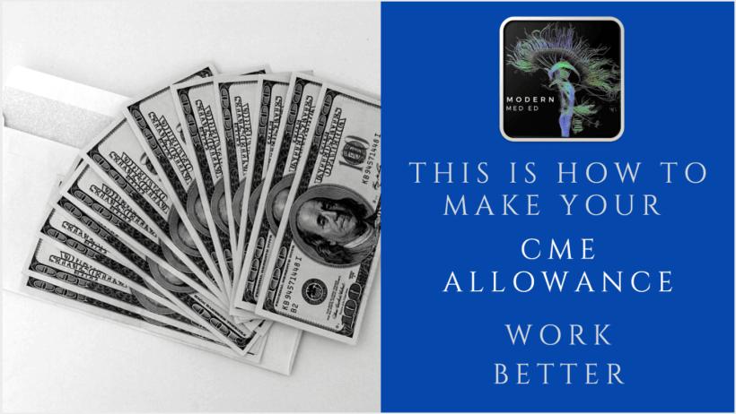 CMW Allowance Policy CME rewards