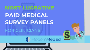 Paid online physician survey panels