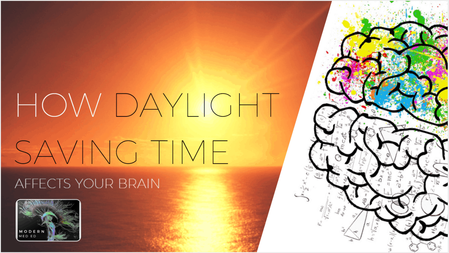 Brain Health and Daylight Saving Time Modern MedEd