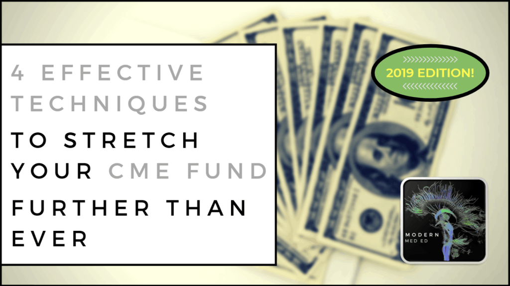 4 Effective Techniques to Stretch Your CME Fund Further than