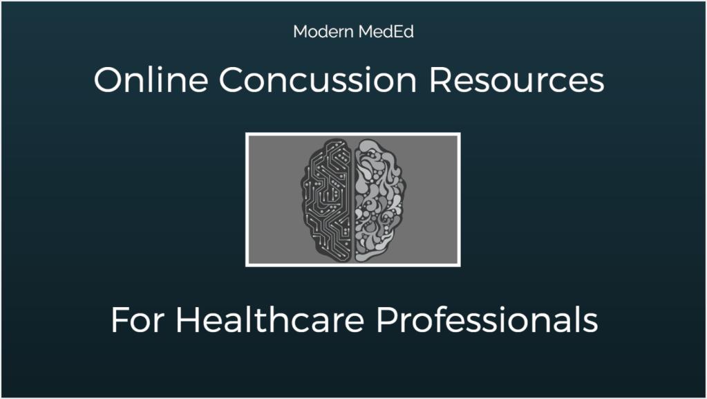 Online Concussion Resources