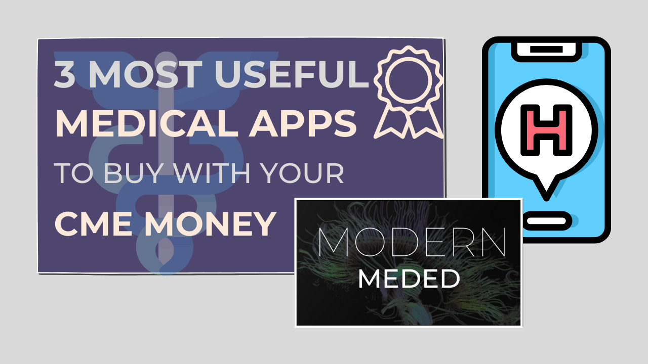 medical apps to spend cme money on
