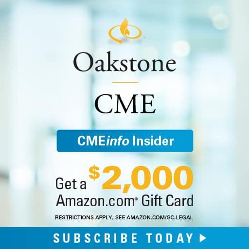Oakstone CMEinfo Insider Special Offer