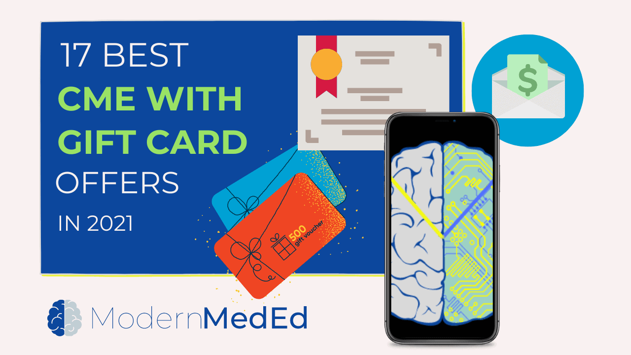 17 best cme with gift card offers