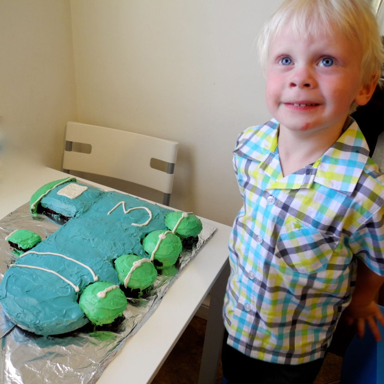 Train Cake For My Birthday Boy