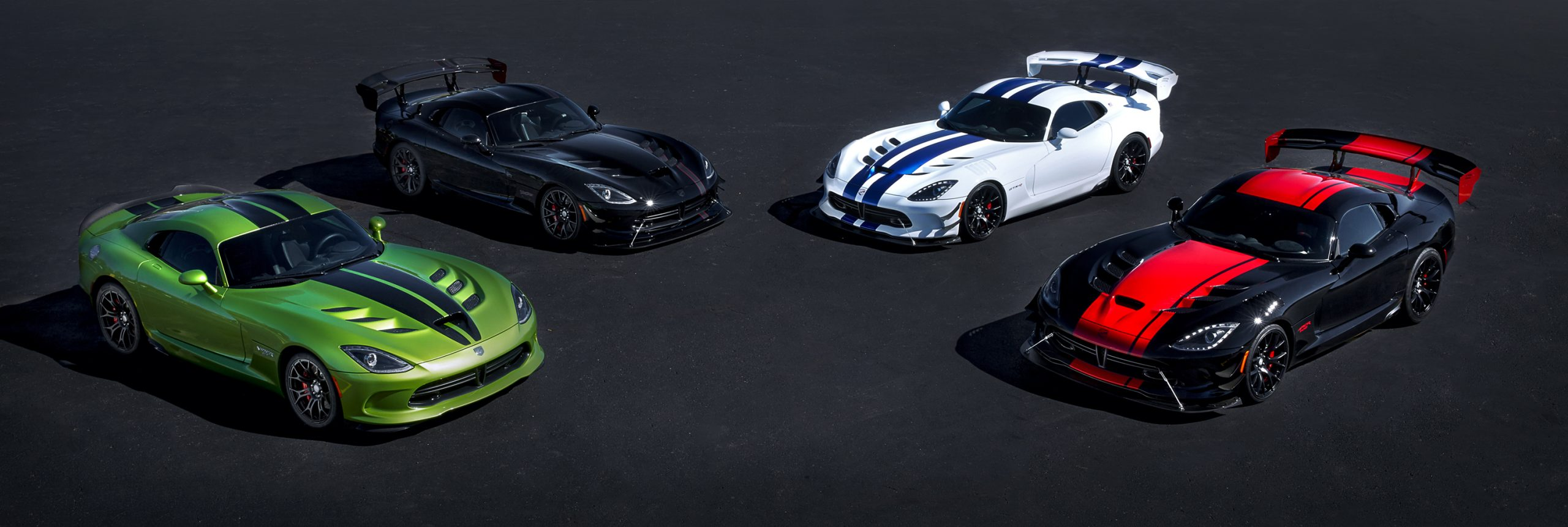 5 Limited Edition Vipers to Wrap up 25 Years of Production