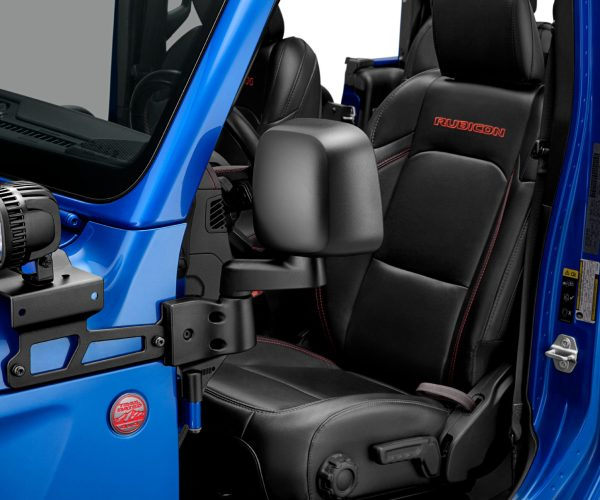 Mopar Announces New Doors-off Mirror Kit for Jeep® Wrangler and Jeep Gladiator