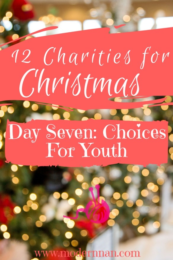12 Charities For Christmas: Day 7 - Choices For Youth   Modern Nan