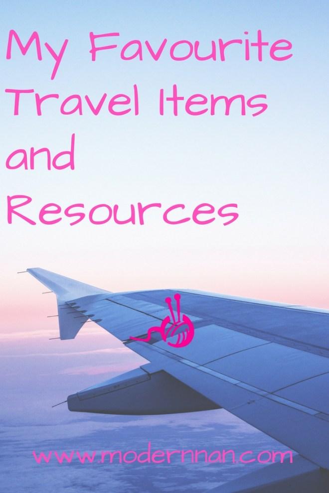 Modern Nan Favourite Travel Items Resources