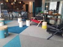 Alt Hotel St. John's Lobby | Modern Nan Travel Blog