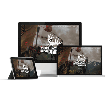Hunting Website Design