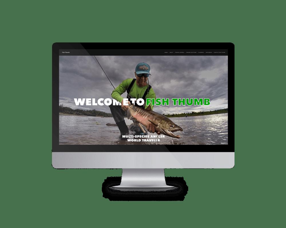 Fish Thumb Website