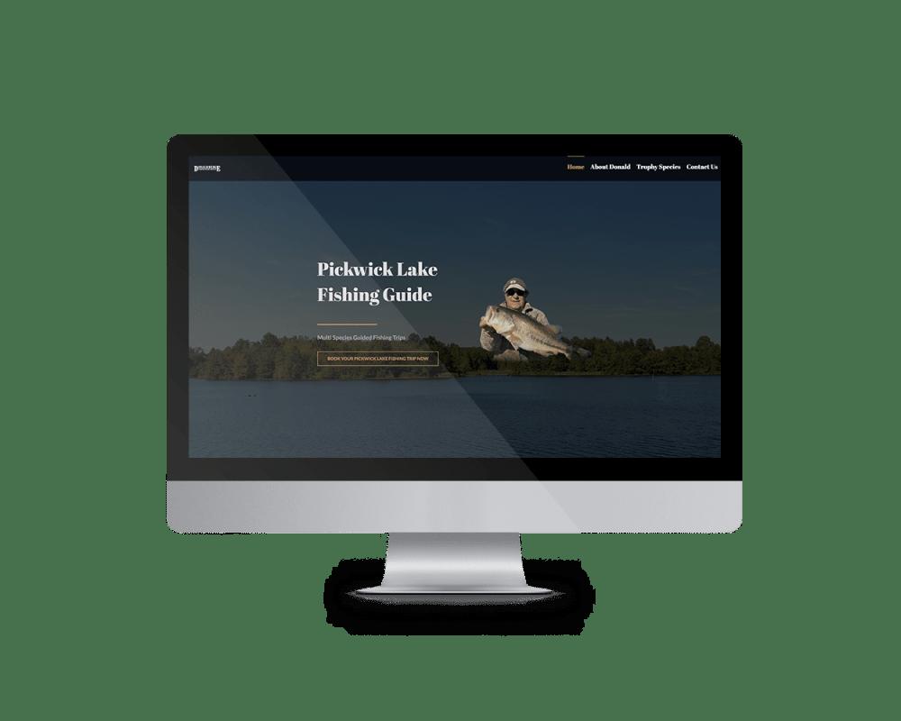 Donald Hedge Website