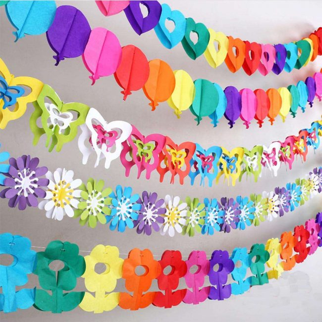 Dapat terbuat dari kertas berwarna-warni