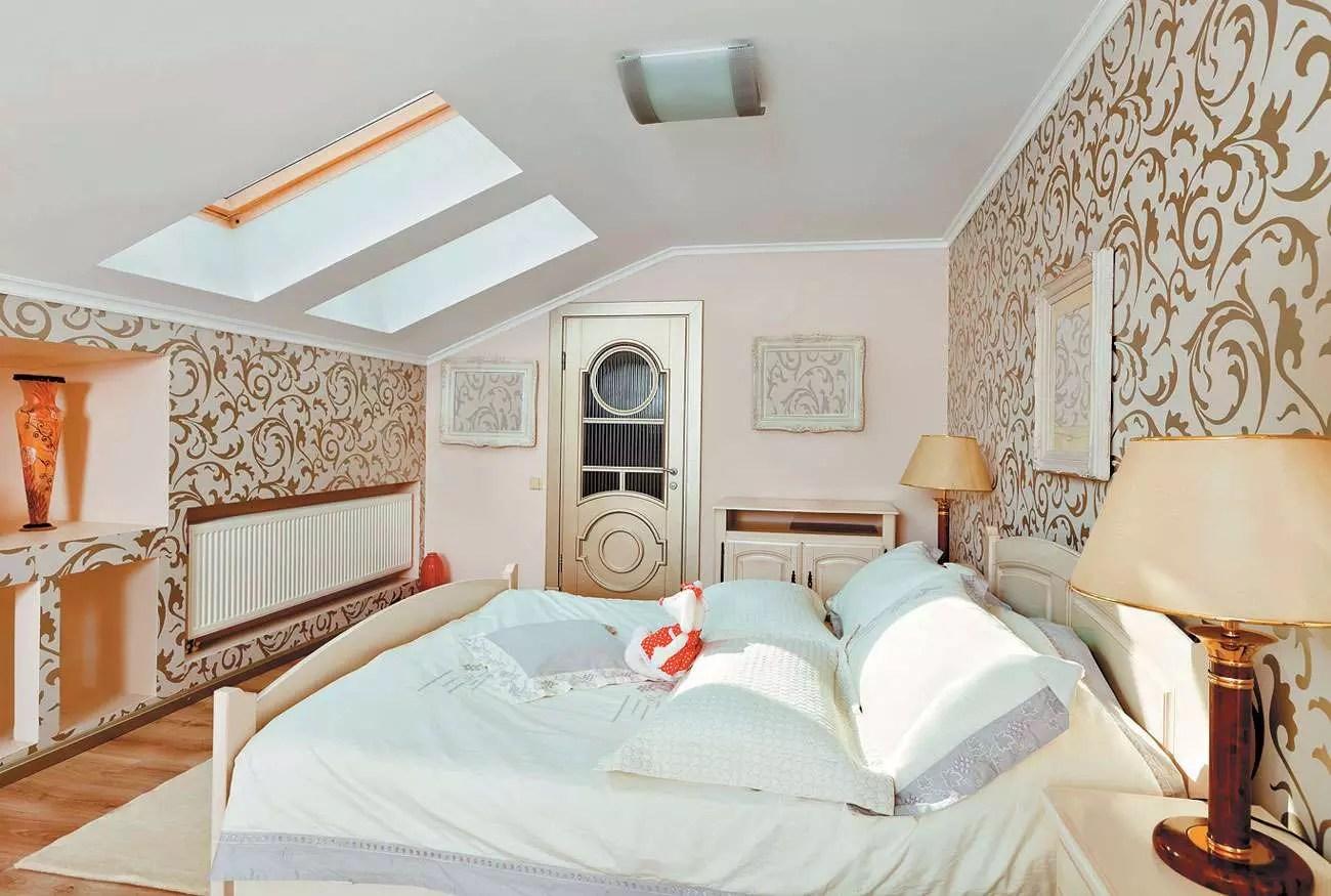 Дизайн мансардной спальни: фото, идеи оформления, рекомендации. Мансардная спальня: особенности, рекомендации по оформлению, фото